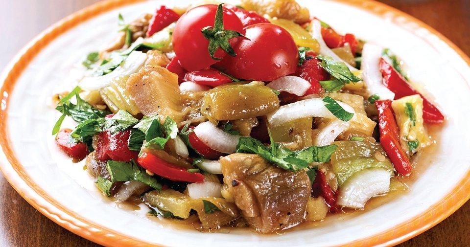 Patlıcan Salata Tarifi