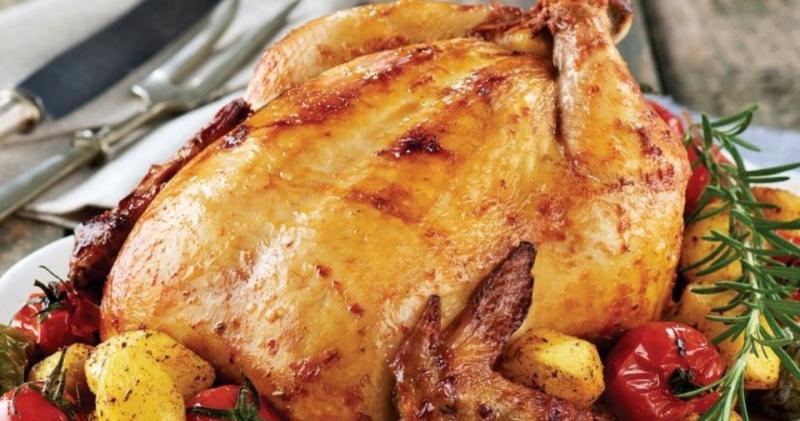 Sarımsaklı Tavuk Tarifi