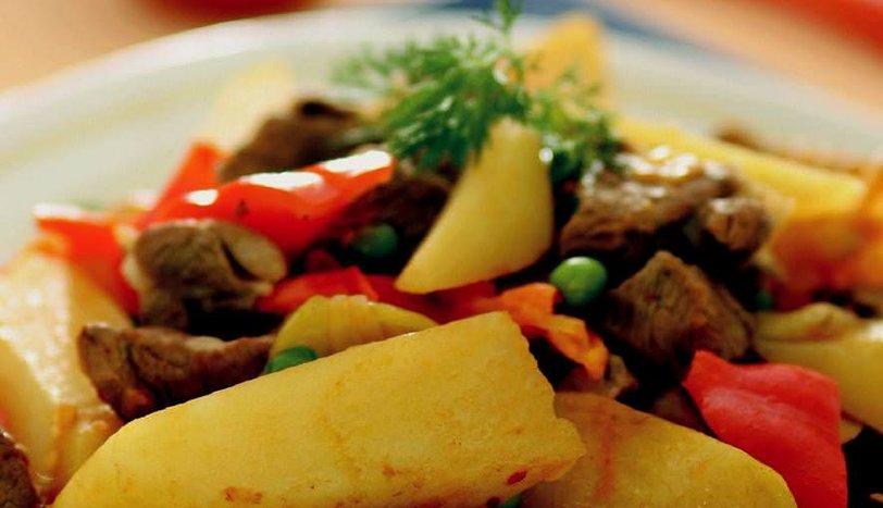Fırında Etli Patates Yemeği Tarifi