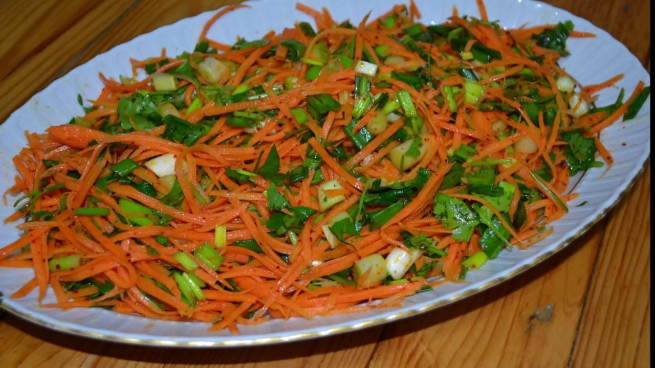 Havuçlu Yeşil Salata Tarifi