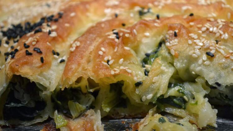 Ispanaklı Kırım Böreği Tarifi