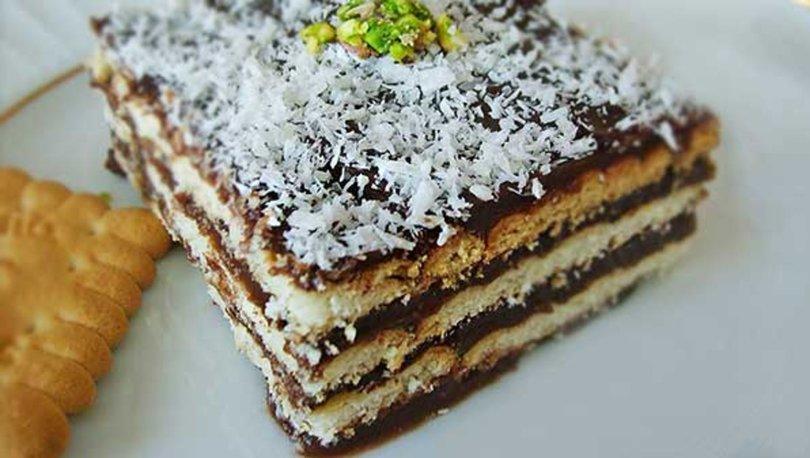 Kakaolu Bisküvi Pastası Tarifi