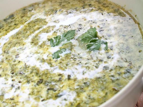 Kremalı Ispanak Çorbası Tarifi