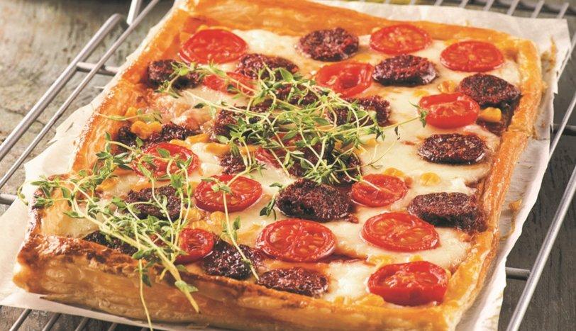 Milföy Hamurunda Pizza Tarifi