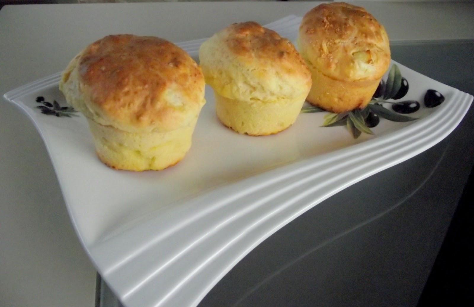 Peynirli Muffin Tarifi