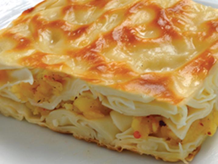 Peynirli Patatesli Börek Tarifi