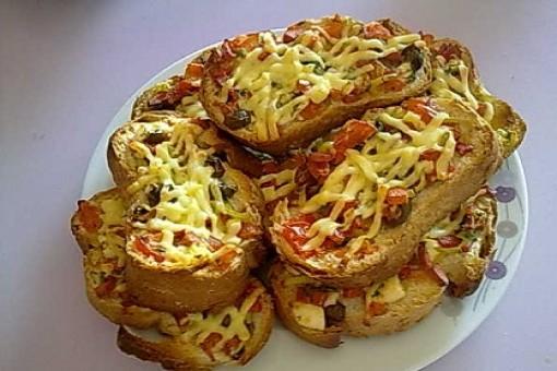 Sıcak İkramlık Ekmek Dilimleri