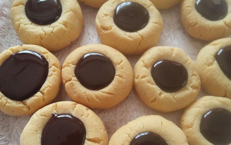 Çikolatalı Düğme Kurabiye Tarifi