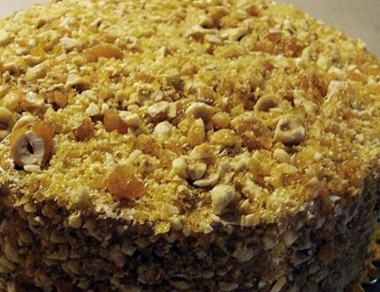 Krokanlı Pasta Tarifi