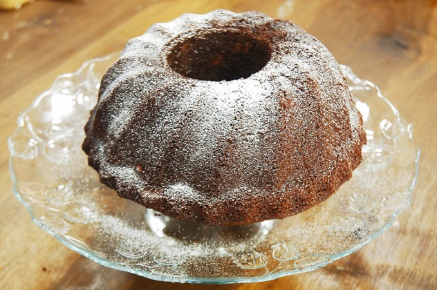 Bademli Çikolatalı Kek
