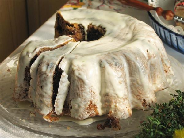 Beyaz Çikolatalı Kek