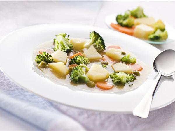 Brokolili Patates Yemeği