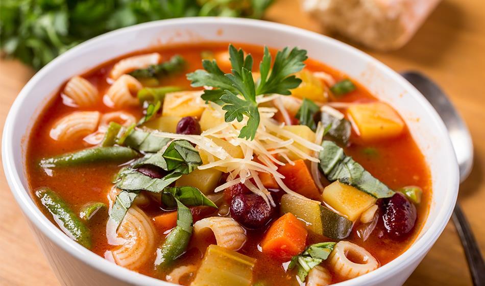 Makarnalı Sebze Çorbası Tarifi