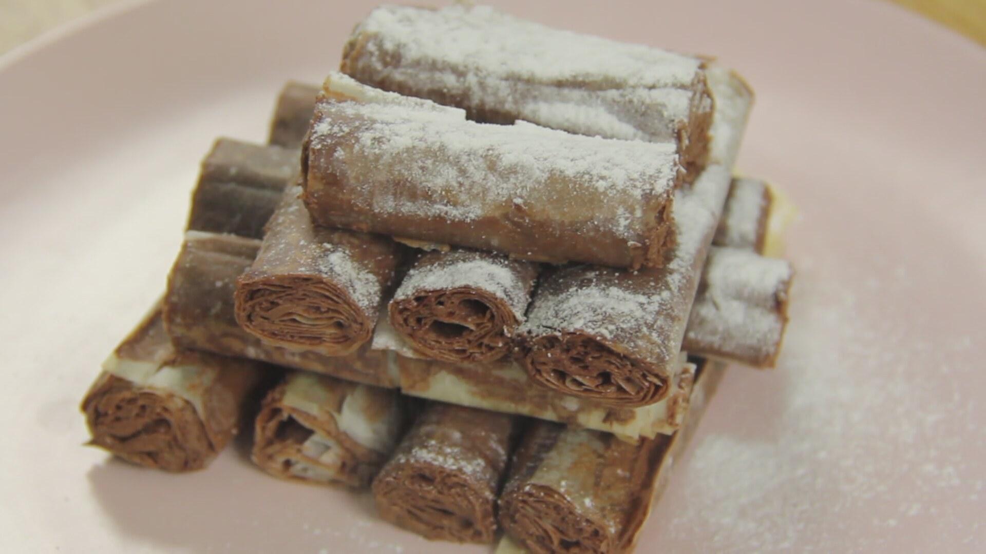 Çikolatalı Rulo Tarifi