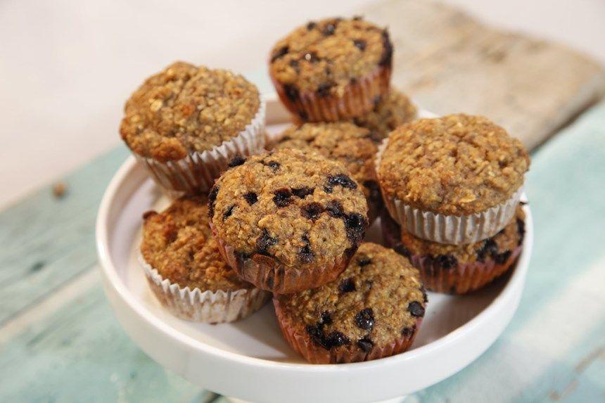 Kahvaltılık Yulaflı Muffin Tarifi