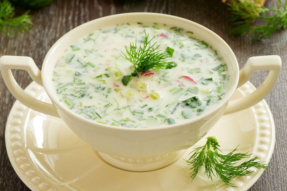 Salatalıklı Soğuk Yaz Çorbası Tarifi
