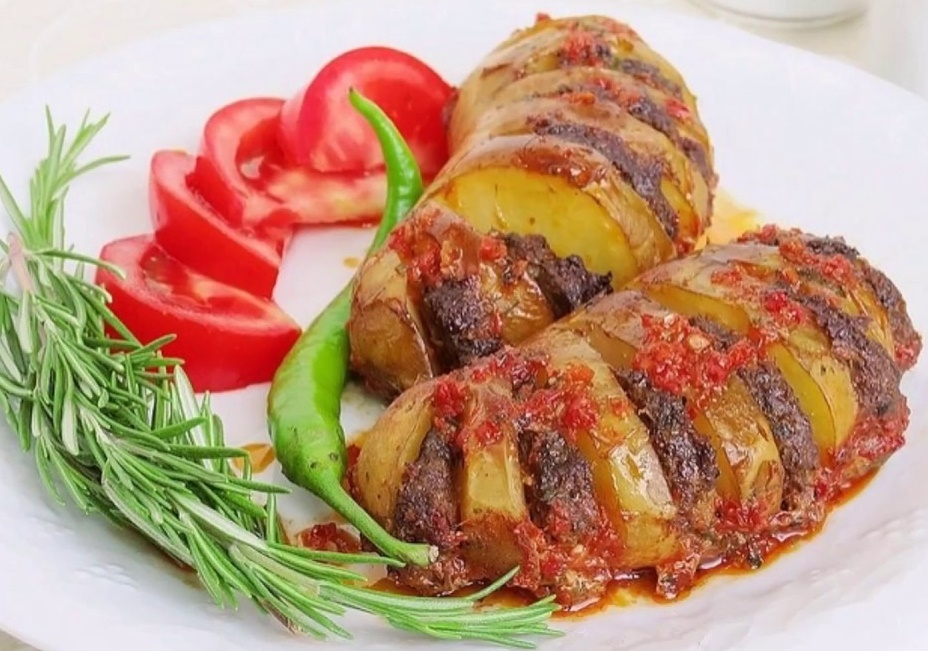 Yelpaze Patates Köfte Tarifi