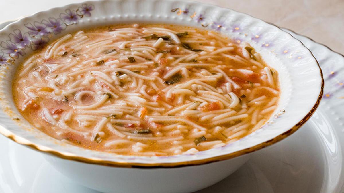1 Tabak Şehriye Çorbası Kaç Kalori?