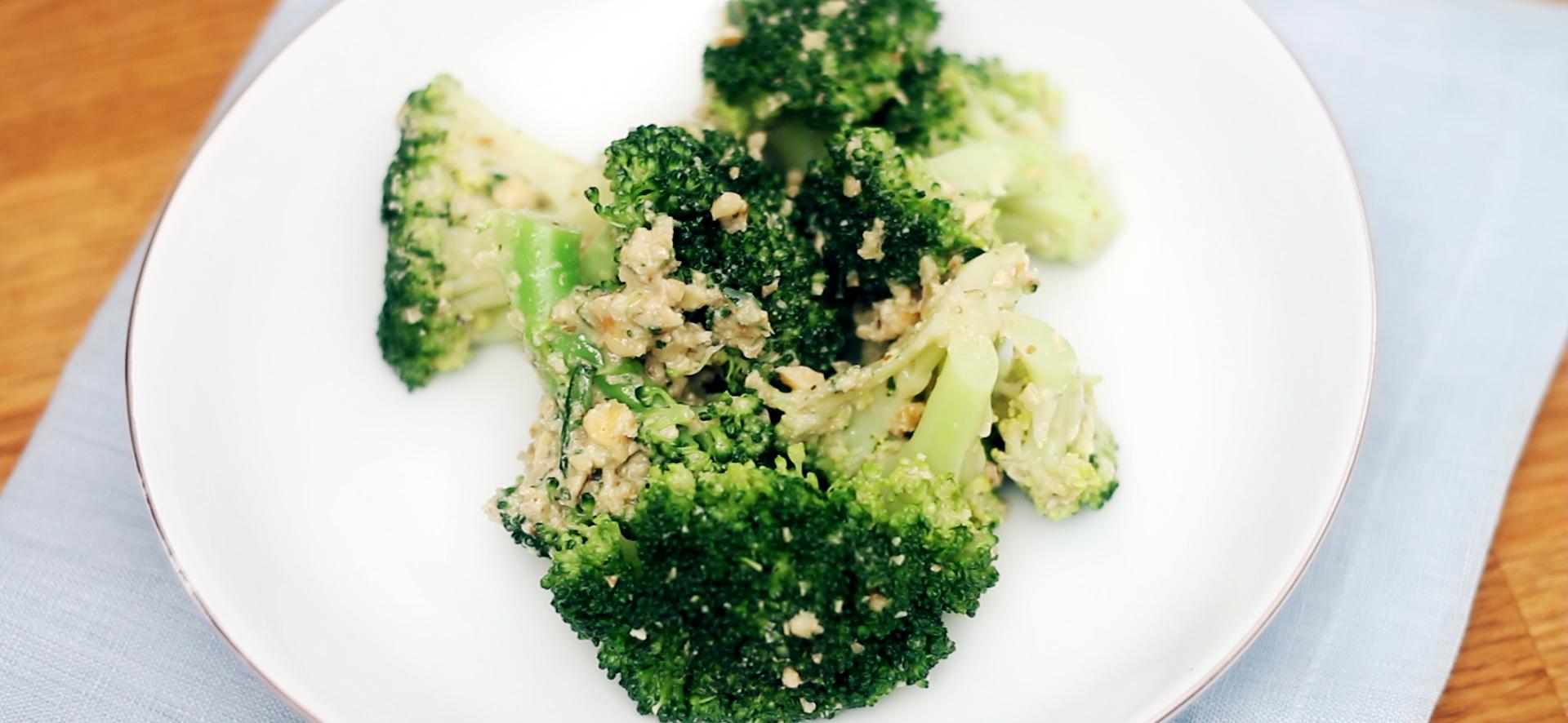 Cevizli Hardallı Brokoli Salatası Tarifi