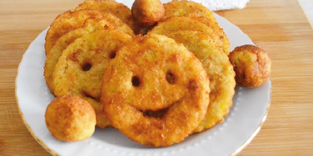 Çocuklar İçin Eğlenceli Patatesler