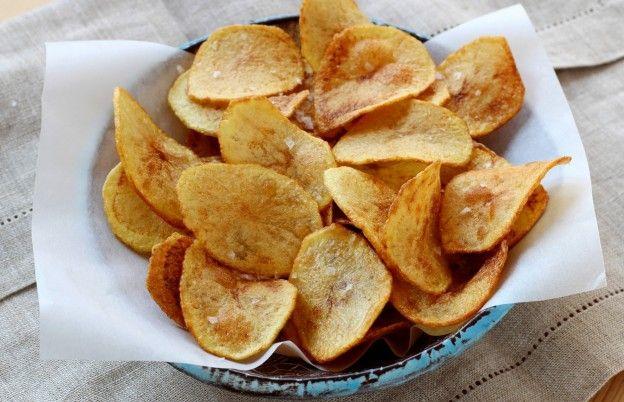 Ev Yapımı Patates Cipsi