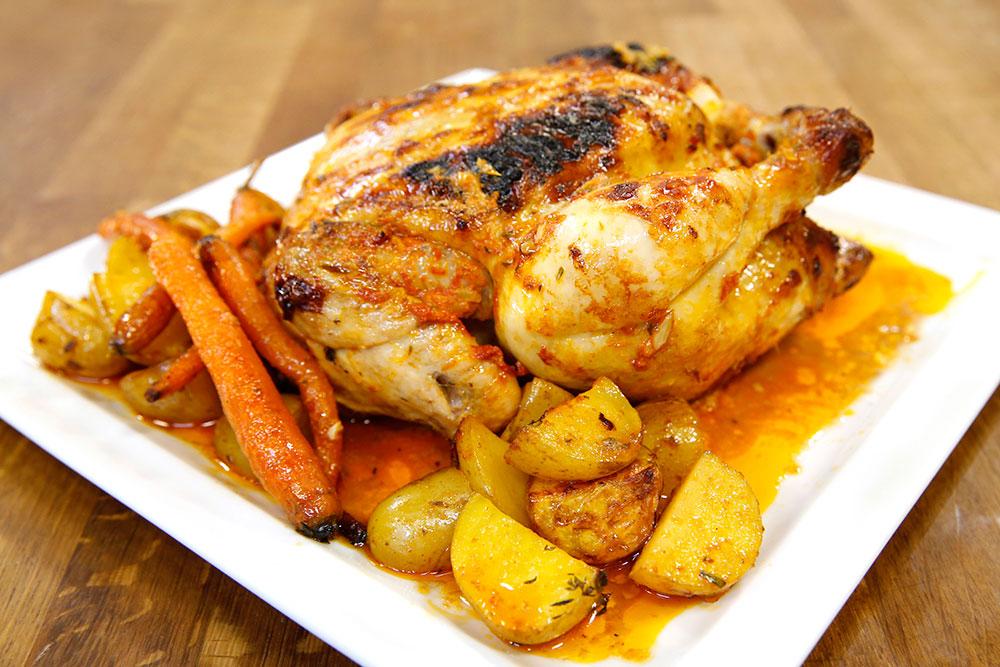 Fırında Limonlu Tavuk
