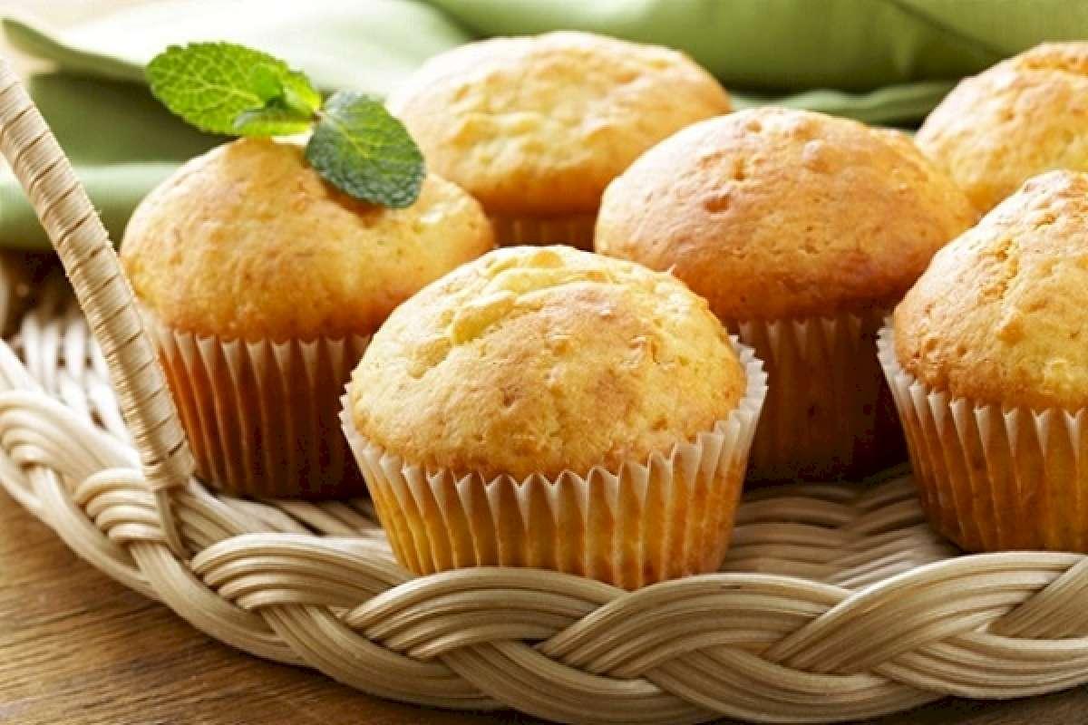 Kuru Meyveli Muffin